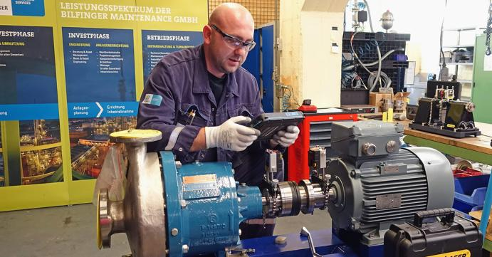Bilfinger Maintenance invests in innovative shaft alignment