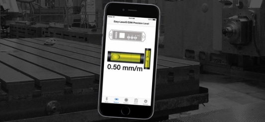 New app for more efficient machine alignment!