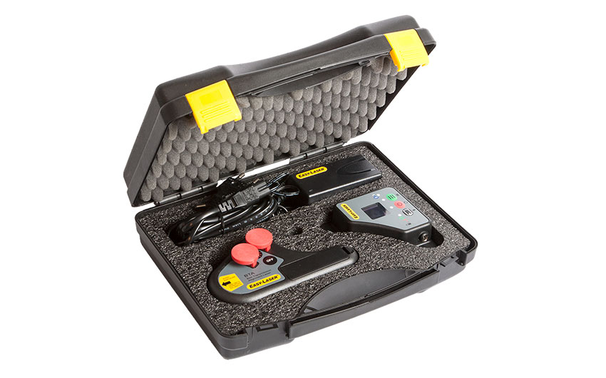 XT190 - Digital alignment of belt transmissions | Easy-Laser