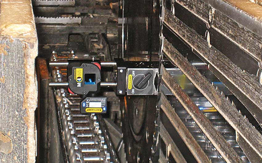 E980 Sawmill Machinery Alignment
